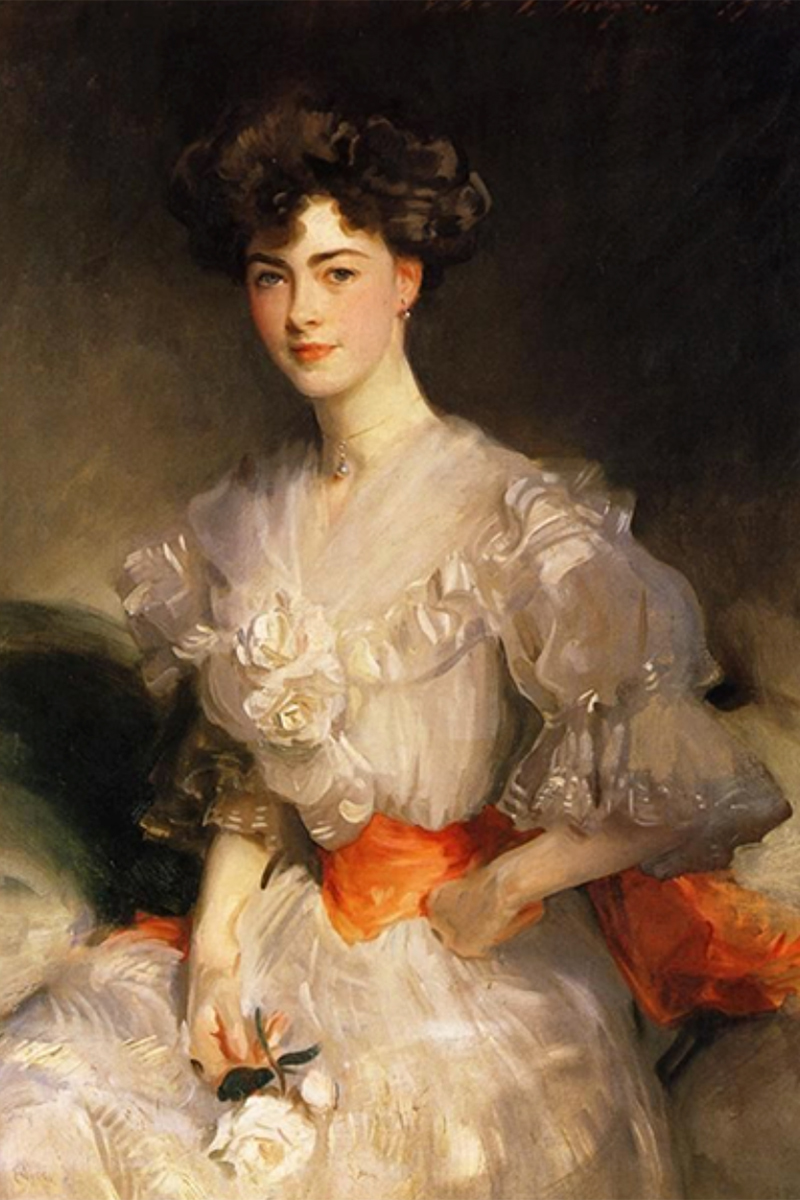 """Maud Coats"" painting, by John Singer Sargent"